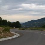 Drumul spre zona Luna Șes